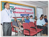 Five Days International Workshop on Android Application Development and IPV6